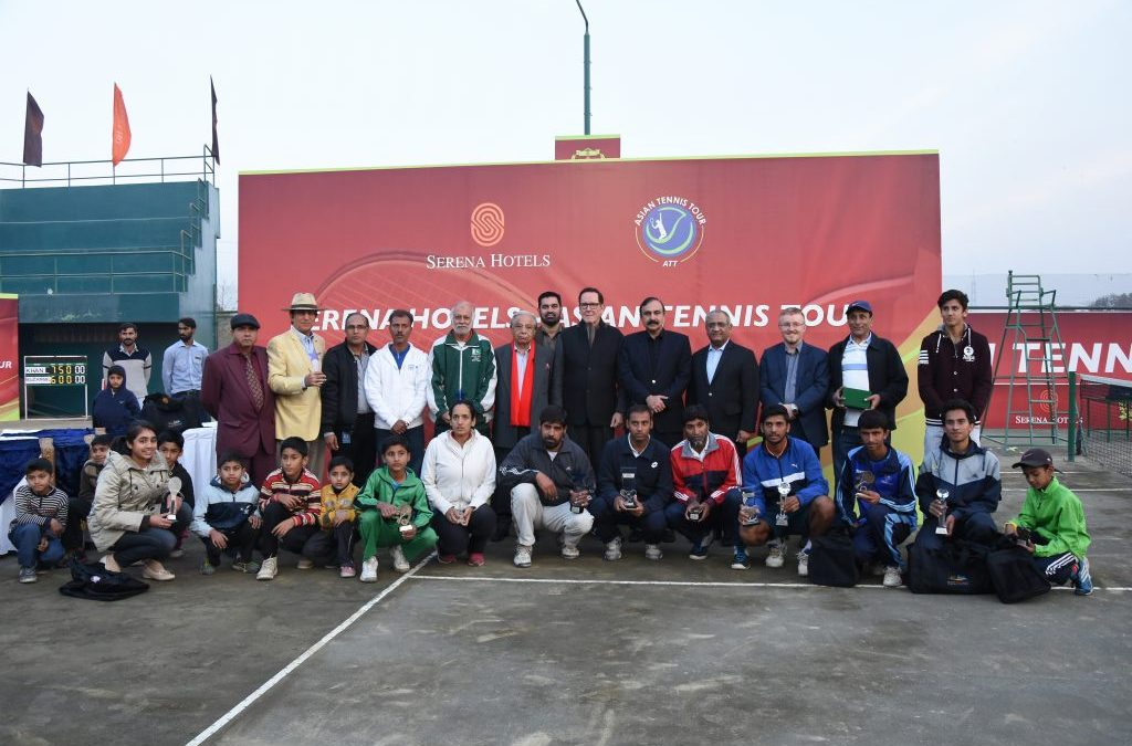 Men's Singles Serena Hotels Asian Tennis Tour 2016 along with Final Day Prize Distribution