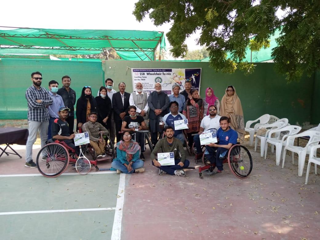 5th SSB Wheel Chair Tennis Coaching Camp and Tournament 2020