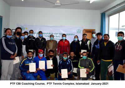 1st ever CBI Coaching Course in Pakistan